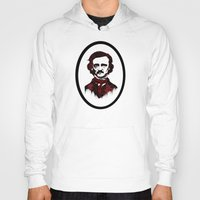 poe Hoodies featuring Poe by Brit Austin Illustration