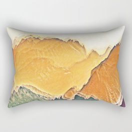 colour mountain Rectangular Pillow