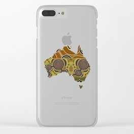 SEE THE LAND Clear iPhone Case