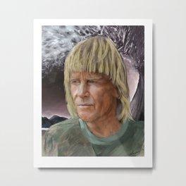George Greenough- Living Surf Legend Metal Print