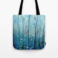 new year Tote Bags featuring new year by Brandon Koepke