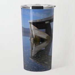 Transparent lake Travel Mug