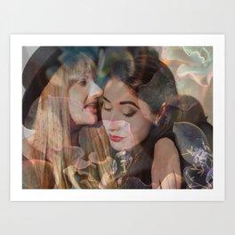 The Valente Sisters, No. 3 Art Print