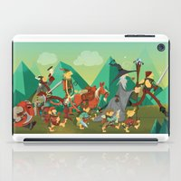 the lord of the rings iPad Cases featuring Lord Of The Rings by O'Banion Art