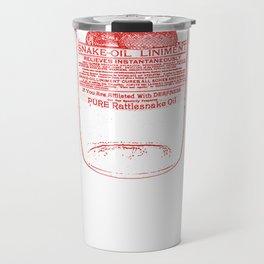 snake oil Travel Mug