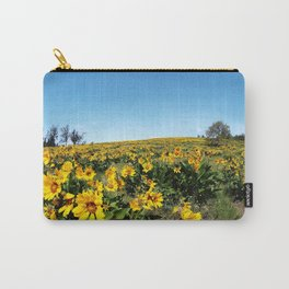 wildflower season Carry-All Pouch
