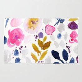 Pink Affair Floral Rug