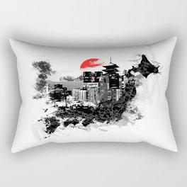 Abstract Tokyo-Shinjuku/Kyoto - Japan Rectangular Pillow