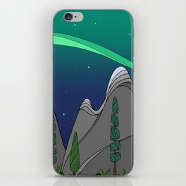Moonlight on the Mountain iPhone Skin