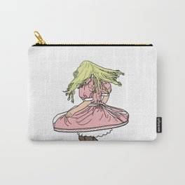 Twirl (Blonde) Carry-All Pouch