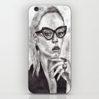 daria iPhone & iPod Skins featuring Daria by Yuval Ozery