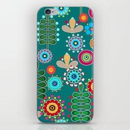 Waltz of the flowers . Retro 3 iPhone Skin