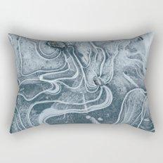 Frozen Marble Rectangular Pillow