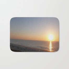 Sunrise on the Atlantic coast Bath Mat