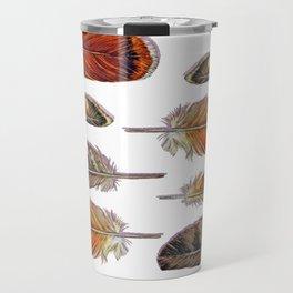 Raptor Feathers Travel Mug