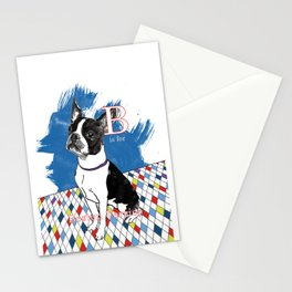 B is for Boston Terrier Stationery Cards