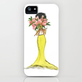 Flower Girl (Deux) iPhone Case