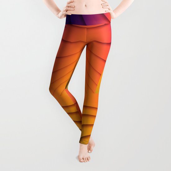 Bold Waves Leggings