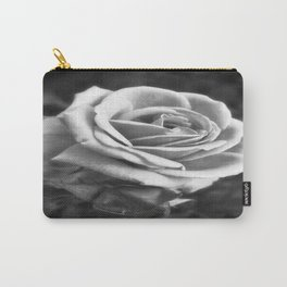 Pink Roses in Anzures 2 B&W Carry-All Pouch