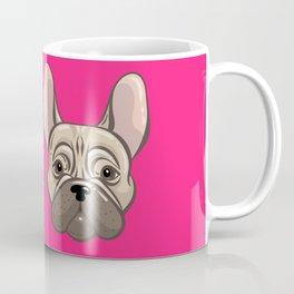 French Pink Bulldog Coffee Mug