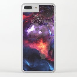Beauty of Pollution Clear iPhone Case
