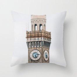 Bromo-Seltzer Tower Throw Pillow