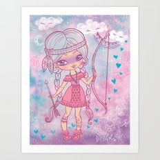 Bows and Arrows Art Print