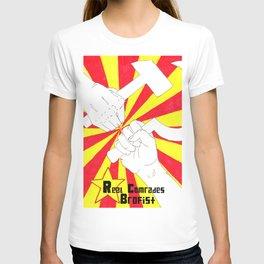 Real Comrades Brofist (Oliver Ryder)  T-shirt