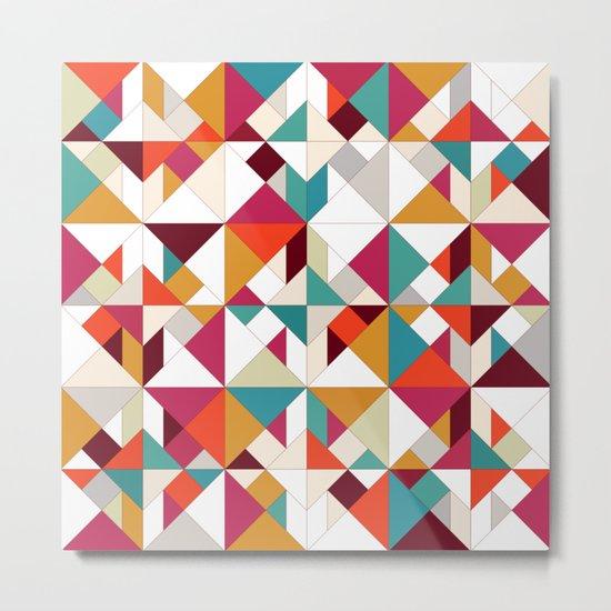 tangram geo Metal Print