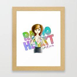 Radioheart Framed Art Print