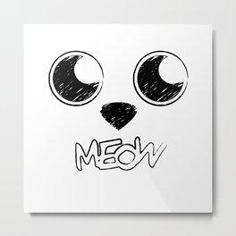 Soft kitty, warm kitty Metal Print