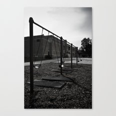 Old School Yard #1 Canvas Print