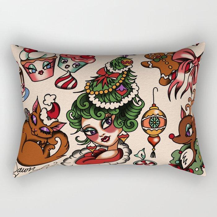 Holidaze Rectangular Pillow