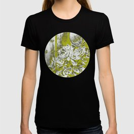 Chartreuse Green Hen and Chicks T-shirt