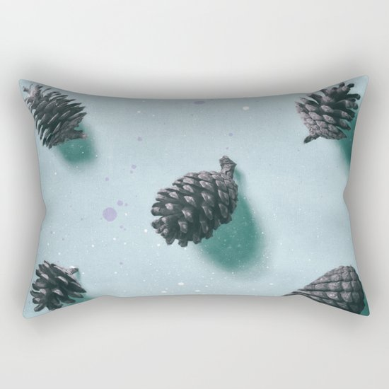 smell of pine forest Rectangular Pillow