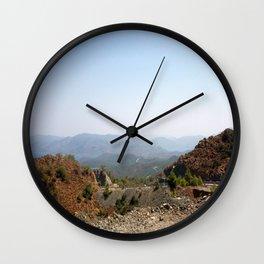 The Winding Road of Datca Peninsula, Turkey Wall Clock