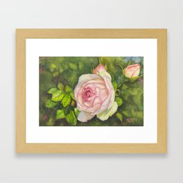 Eden's Serenade Framed Art Print