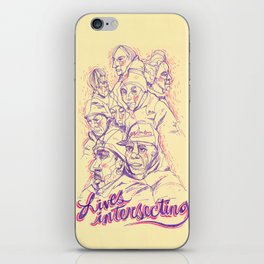 Lives Intersecting iPhone Skin