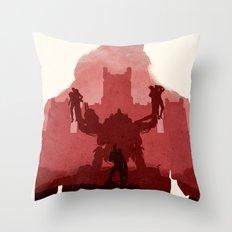 Wolfenstein Throw Pillow