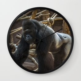 Gorilla Leader Wall Clock