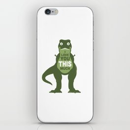 Amourosaurus iPhone Skin