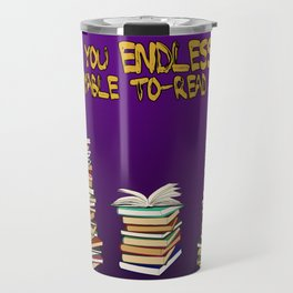Endless to-read List Travel Mug
