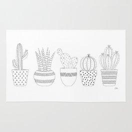 Cactus Sketch Rug