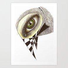 The Bird's Eye Art Print