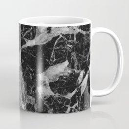 Black and Gray Marble Pattern Coffee Mug