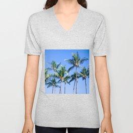 Palms in Living Harmony Unisex V-Neck