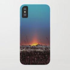 Winter Sun Rising iPhone X Slim Case