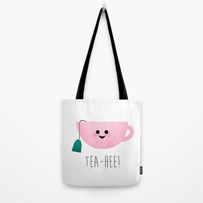 Tea-Hee Tote Bag