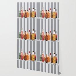 Bottles Wallpaper