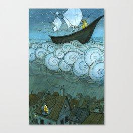 Sky Sailing Canvas Print